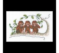 Three Wise Monkeys- Thea Gouverneur
