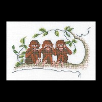 Three Wise Monkeys- Thea Gouverneur