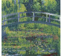 The Water Lily Pond National Gallery Kit 12x11