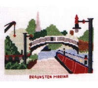 Braunston Marina Cross Stitch