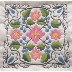 Delft Tiles Embroidery