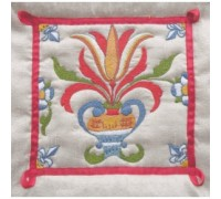Delft Tile 5 Embroidery - DT5
