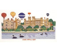 Leeds Castle Cross Stitch