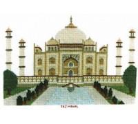 The Taj Mahal Cross Stitch
