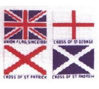 The Union Flag Cross Stitch
