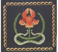 Victorian Iris Tile