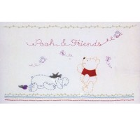 Pooh and Friends Embroidery Kit - DPPS002