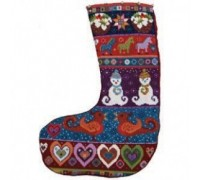 Snowman Stocking by Animal Fayre