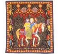 The Green Lady Tapestry Wallhanging