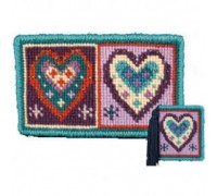 Hearts Tapestry Needlecase