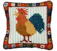 Little Cockerel Tapestry - af-55 - Printed