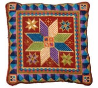 Medium Star Tile Tapestry Cushion