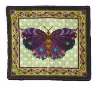 Purple Butterfly Tapestry