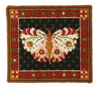 White Butterfly Tapestry