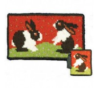 Rabbits Tapestry Needlecase