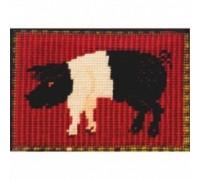 Saddleback Pig Tapestry