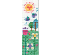 Say It With Cross Stitch Beautiful Day Bookmark