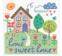 Say It With Cross Stitch Home Sweet Home