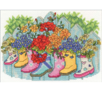 Flower Displays Blossoming Wellies