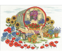 Flower Displays Flower Caravan