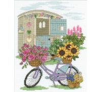 Flower Displays Flowery Bicycle