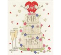 Modern Samplers Wedding Congratulations
