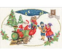 Vintage Christmas Santa is Coming