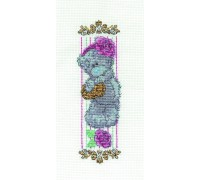 Tatty Teddy Vintage Rose Bookmark