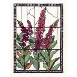 Tiffany Windows Cross Stitch