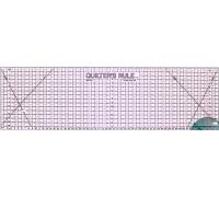 Metric Ruler 16x60cm - Black