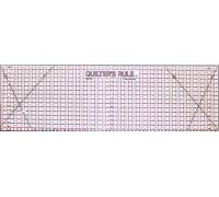 Metric Ruler 11x35cm - Black