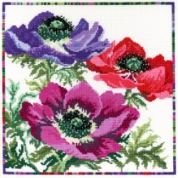 Garden Flowers by Bothy Threads