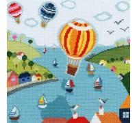 Balloons Cross Stitch - XBS1