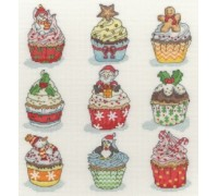Christmas Cup Cakes - XH6