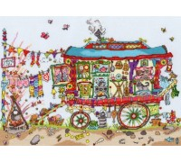 Cut Thru Gypsy Wagon - XCT13 - 14ct