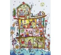 Cut Thru North Pole House - XCT17 - 14ct