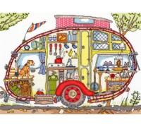 Cut Thru Vintage Caravan - XCT21