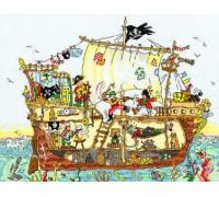 Cut Thru Pirate Ship - XCT7