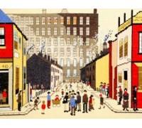 Street Scene Cross Stitch - XLC9