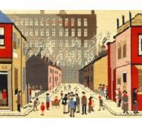 Street Scene Lowry Tapestry - TLC9
