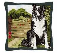 Beth The Border Collie Tapestry - T1914