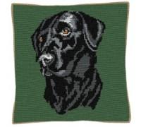 Black Labrador Tapestry - C737