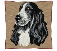 Cocker Spaniel Tapestry Cushion - C1866