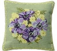 Downham Chunky Floral Tapestry - C407