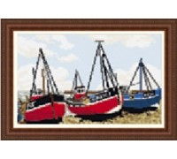 Fishing Boats Tapestry Kit - T1930