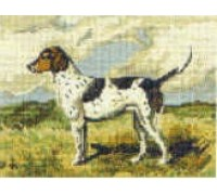 Foxhound Tapestry - T1900