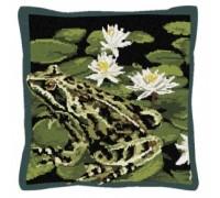 Garden Frog Tapestry - T1931