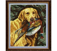 Golden Retriever Tapestry - T1687