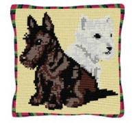 Highlanders Chunky Dog Tapestry - C1597