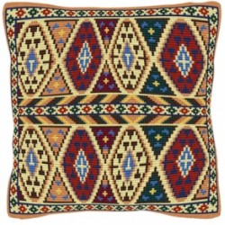 Geometric & Ethnic Tapestry by Brigantia